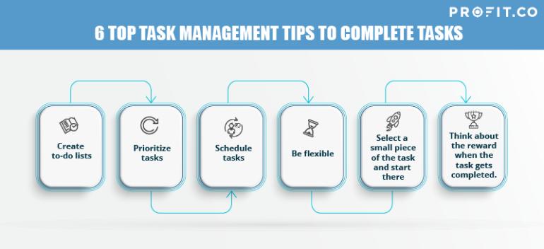 6 Top Task Management Tips