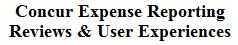 Concur Expense Reporting Reviews & User Experiences