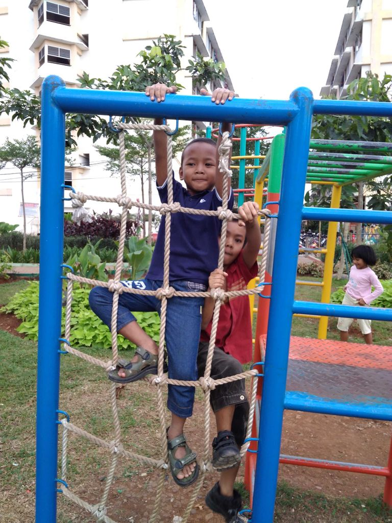 Main bersama di Cipinang 01 Juni 2017
