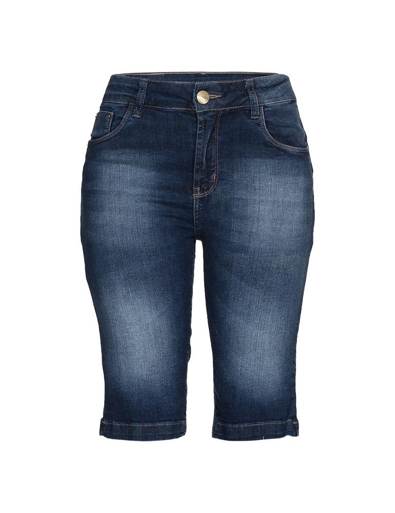 Bermuda Jeans Feminina Fact Jeans Ref. 04087