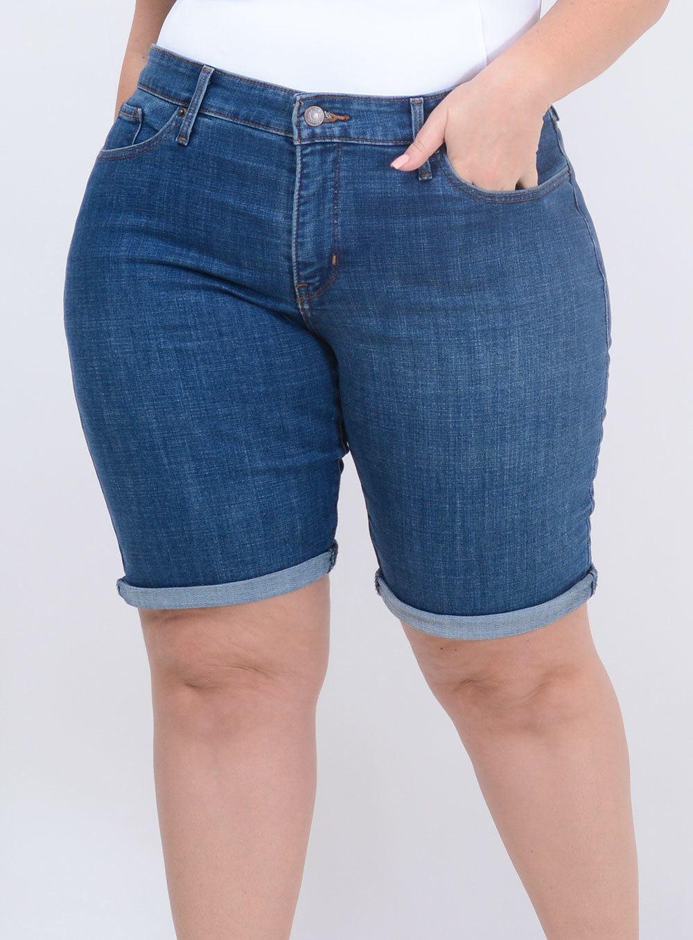 Bermuda Levi's Jeans Feminina ref. LV236460004