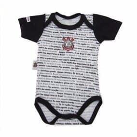 Body Bebê Times de Futebol
