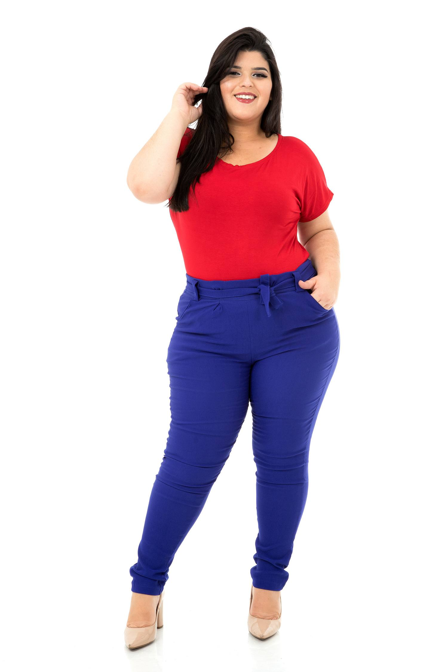 Calça Clochard Plus Size