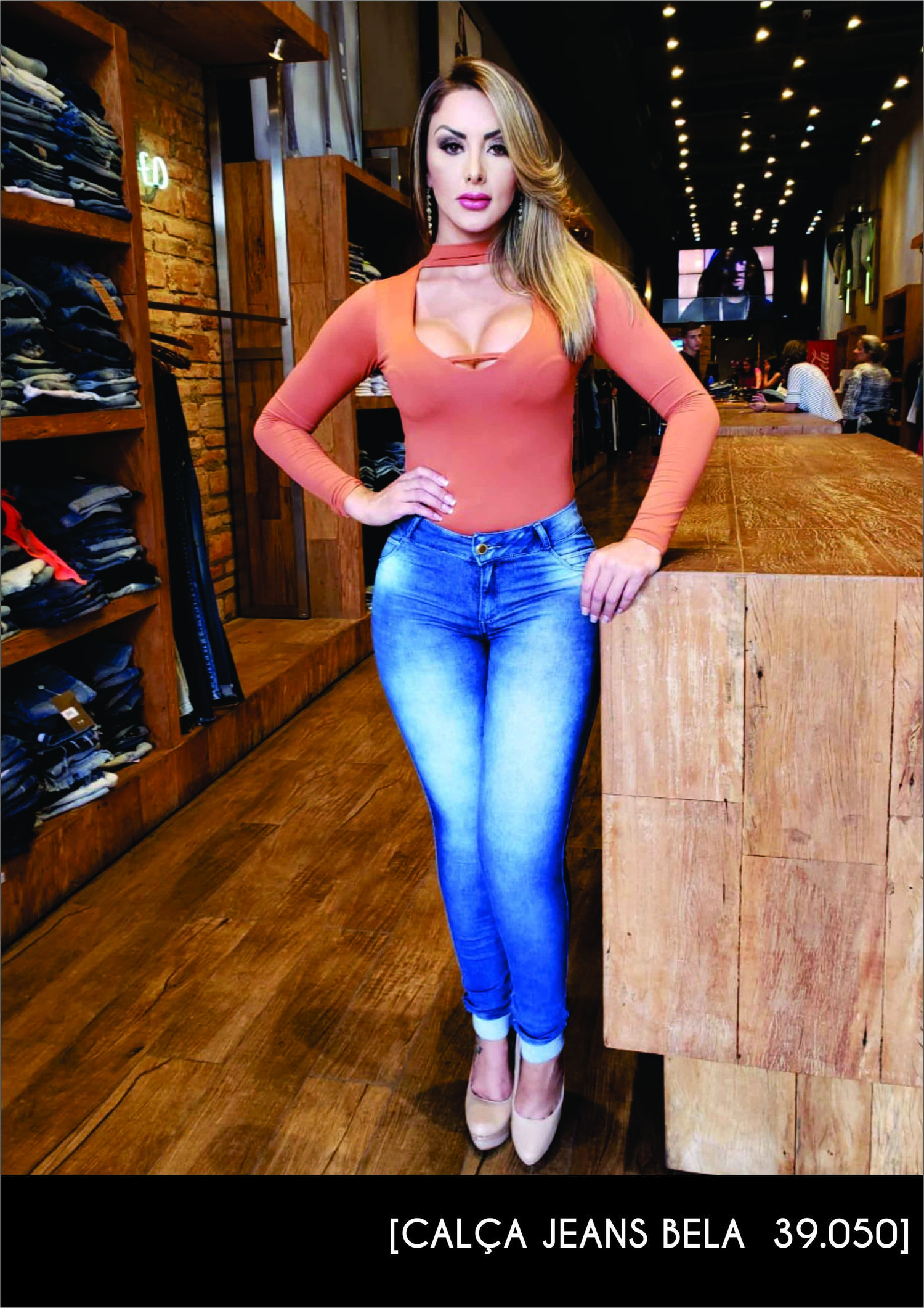 Calça Darlook Jeans Bela ref. 39050