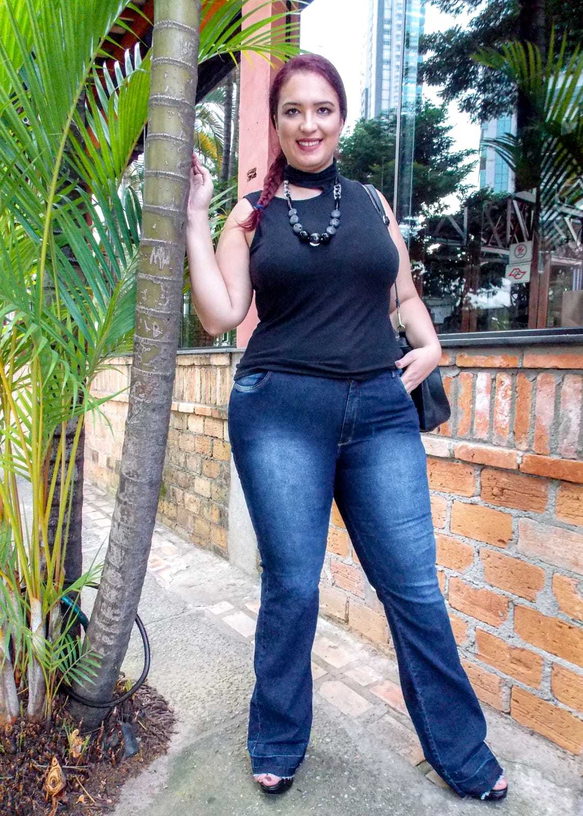Calça Dinho's Jeans Flare Trancoso (2552)