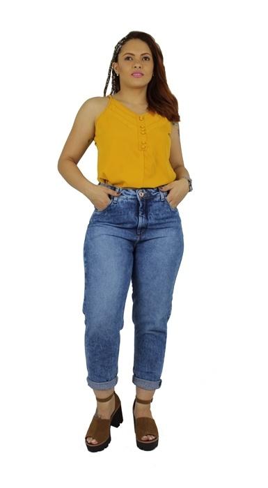 Calça Dinho's Jeans Mom Yago Skay (2561)