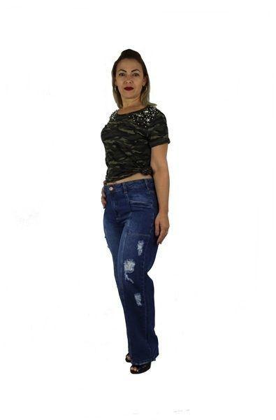 Calça Dinho's Jeans Pantalona Iago (2549)