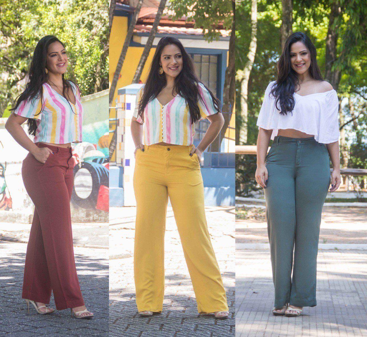 Calça Dinho's Jeans Pantalona Stacy (2585)