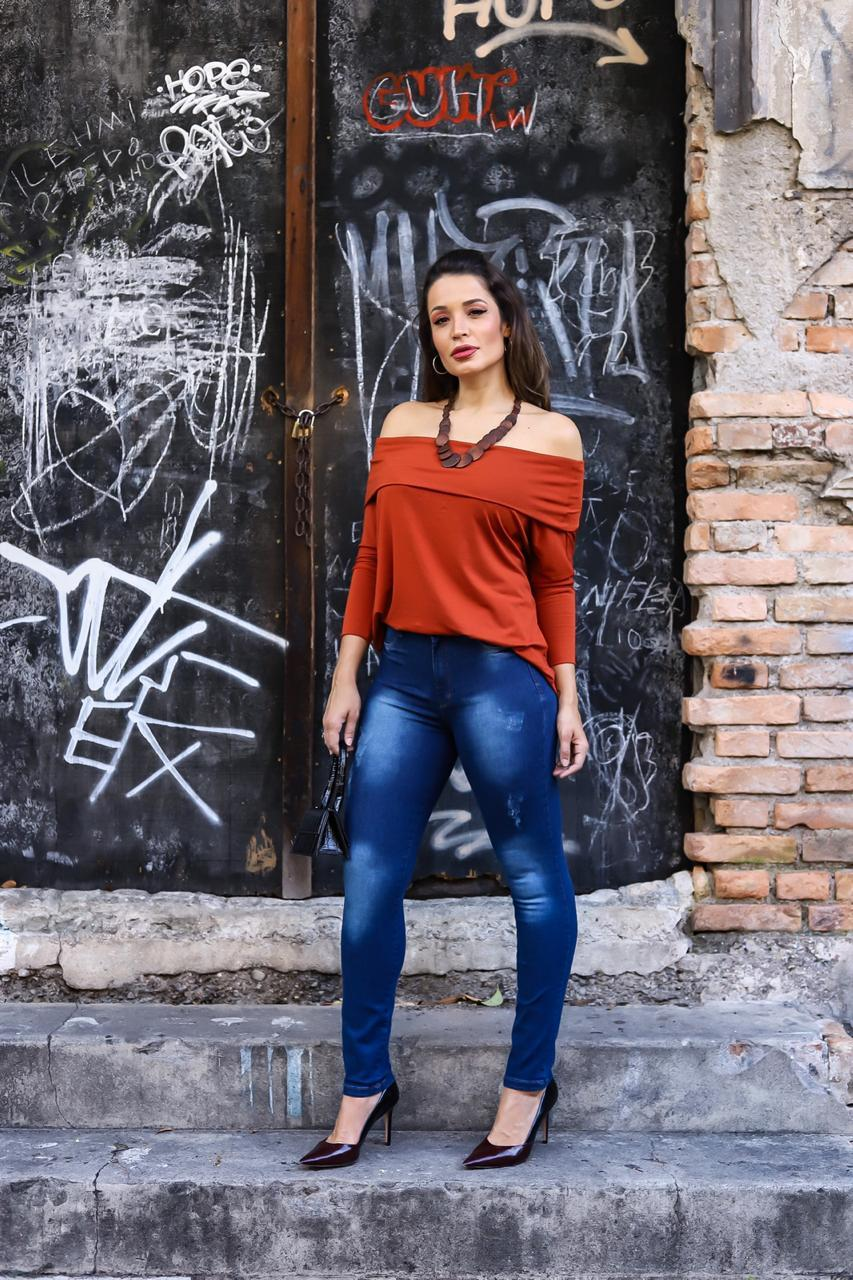 Calça Dinho's Jeans Skinny Chapa Barriga (2632)