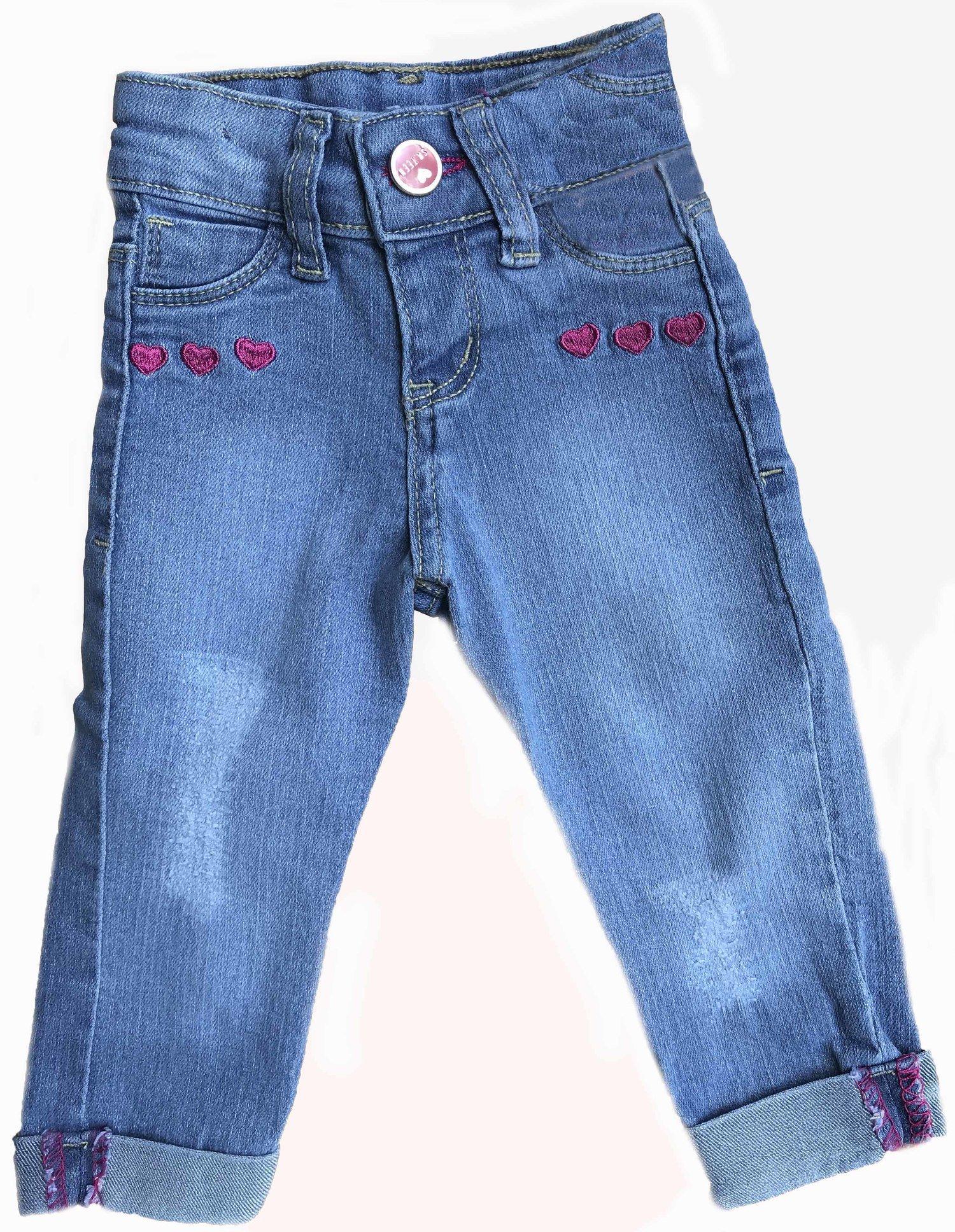 Calça Jeans Bebê Menina [086]