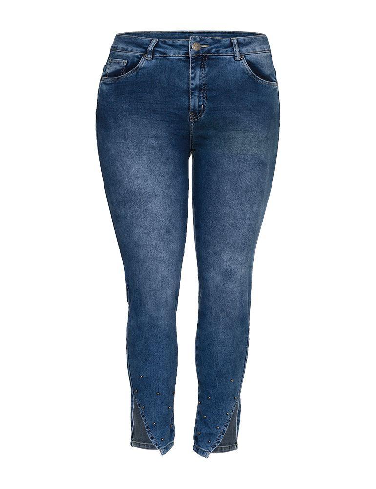 Calça Jeans Cigarrete Feminina Fact Jeans - Plus Size Ref. 03939