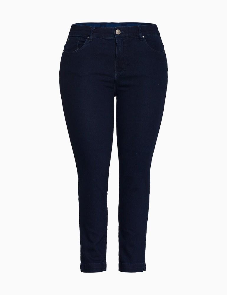 Calça Jeans Cigarrete Feminina Fact Jeans - Plus Size Ref. 03983