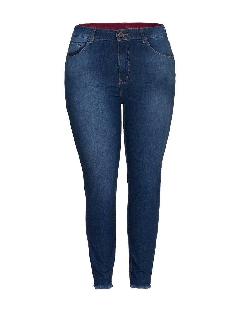 Calça Jeans Cigarrete Feminina Fact Jeans - Plus Size Ref. 04013