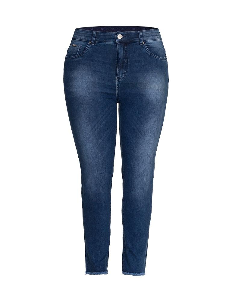 Calça Jeans Cigarrete Feminina Fact Jeans - Plus Size Ref. 04056