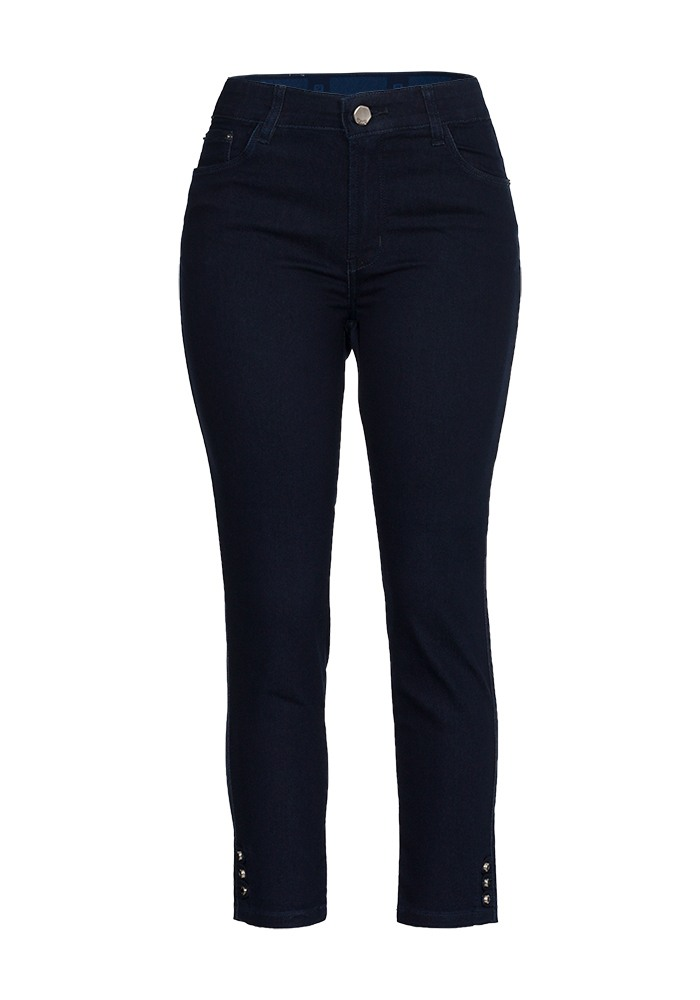 Calça Jeans Cropped Feminina Fact Jeans Ref. 04115