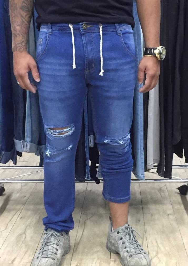 Calça Jeans Jogger Masculina (6062)