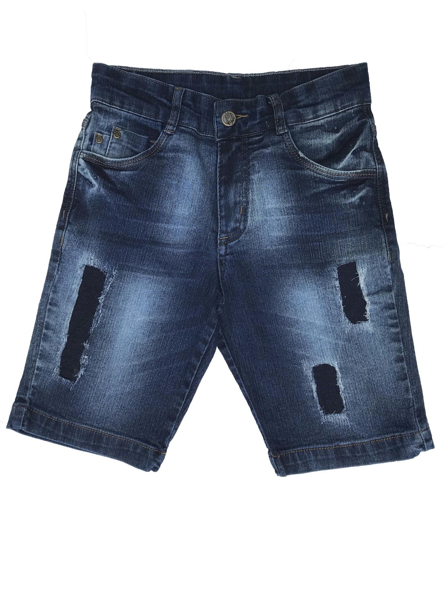 Bermuda Jeans Masculina Infantil [618]