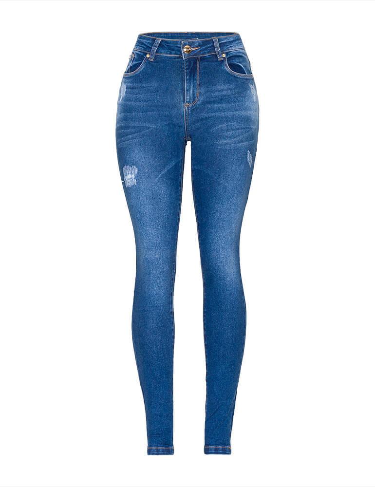 Calça Jeans Skinny Feminina Fact Jeans ref. 03562