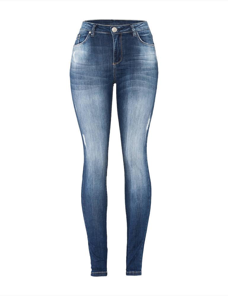 Calça Jeans Skinny Feminina Fact Jeans ref. 03645