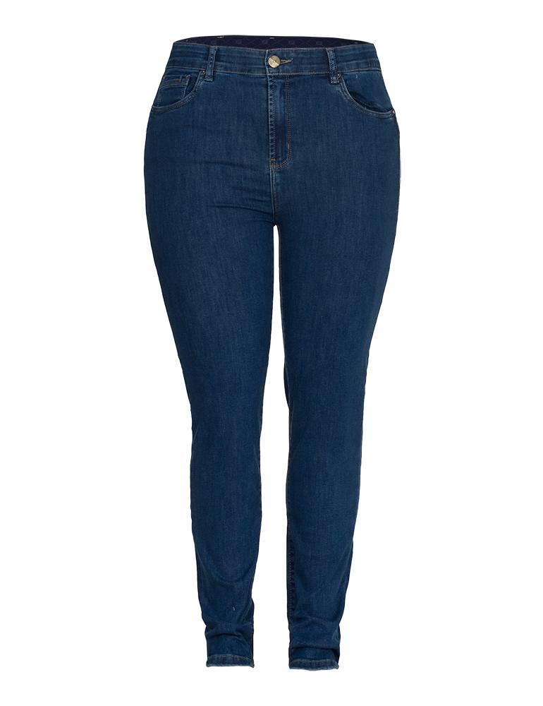 Calça Jeans Skinny Feminina Fact Jeans - Plus Size Ref. 04038