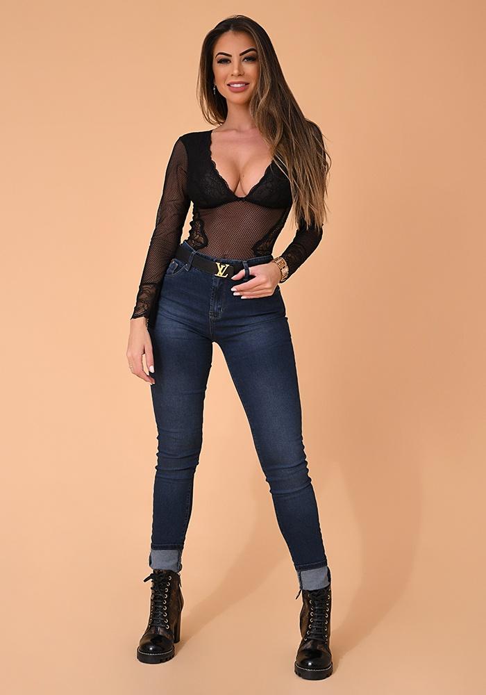 Calça Jeans Skinny Feminina Fact Jeans Ref. 04126