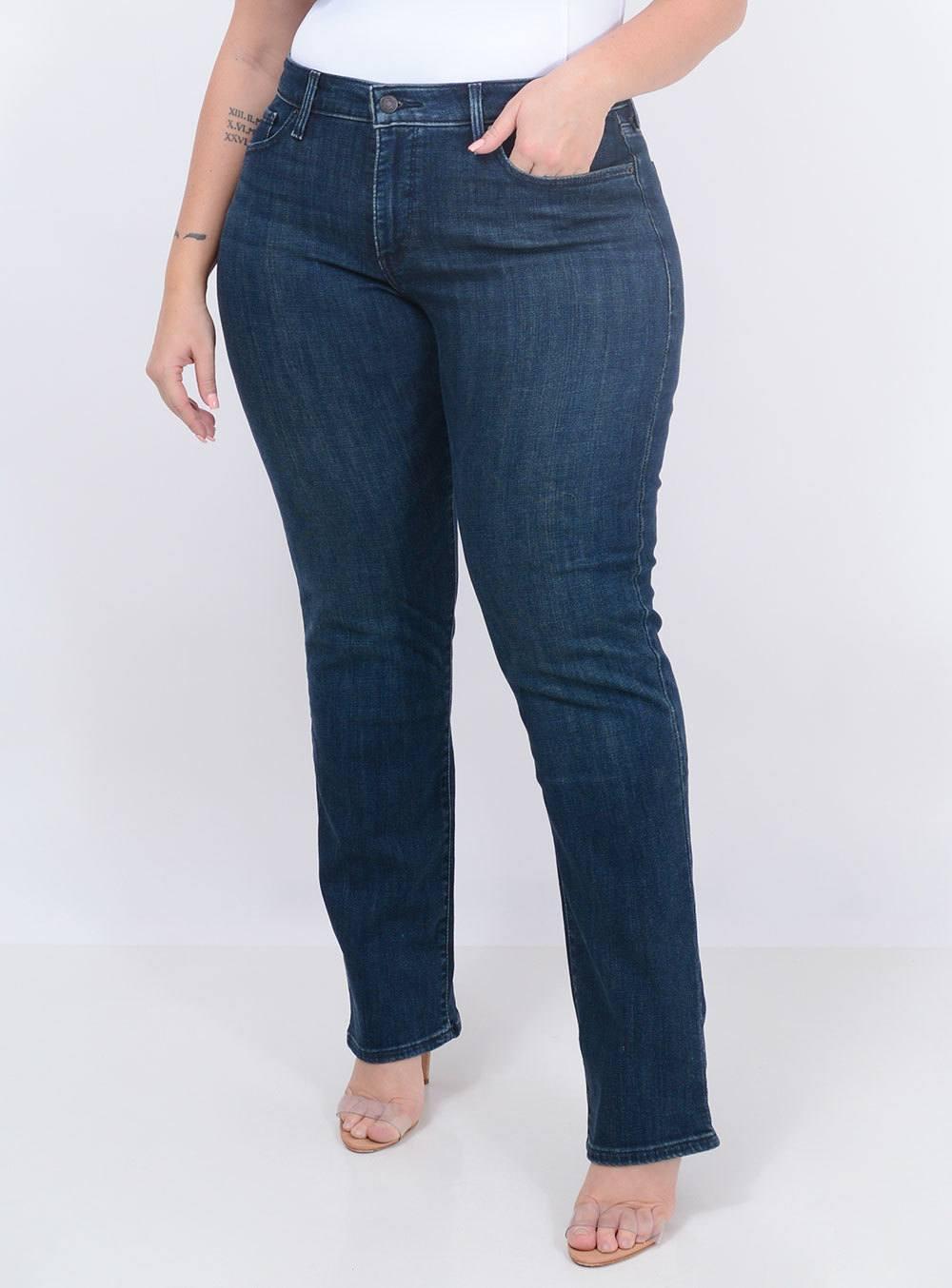 Calça Levi's Jeans Feminina 314 Shaping Straight ref. LV196410009