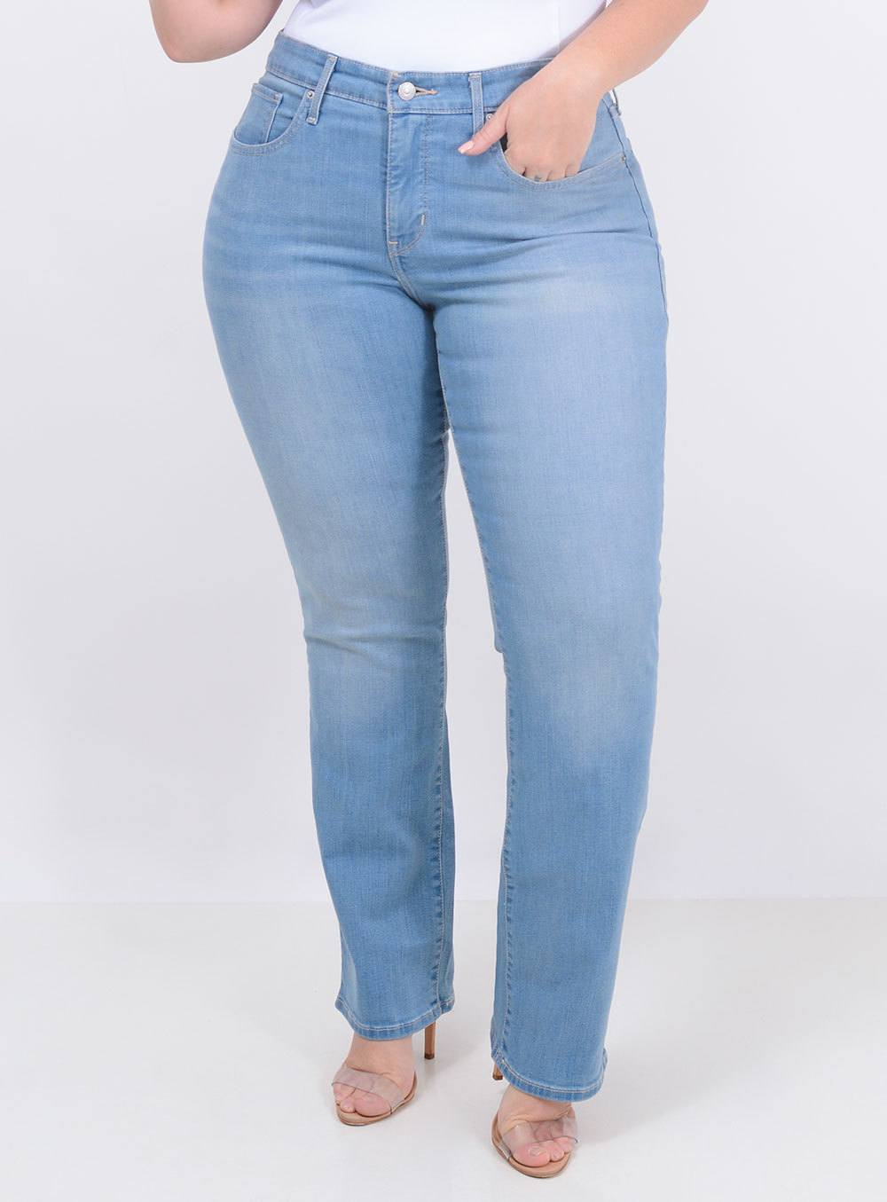 Calça Levi's Jeans Feminina 314 Straight ref. LV196410004