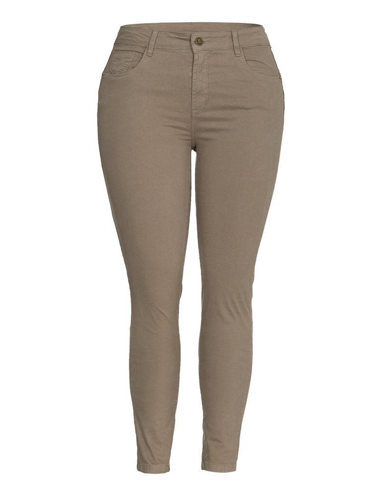 Calça Sarja Skinny Feminina Fact Jeans - Plus Size Ref. 04103