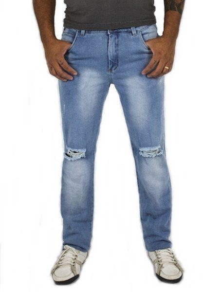 Calça Yunes Jeans Masculina Slim Jordam ref. 2322