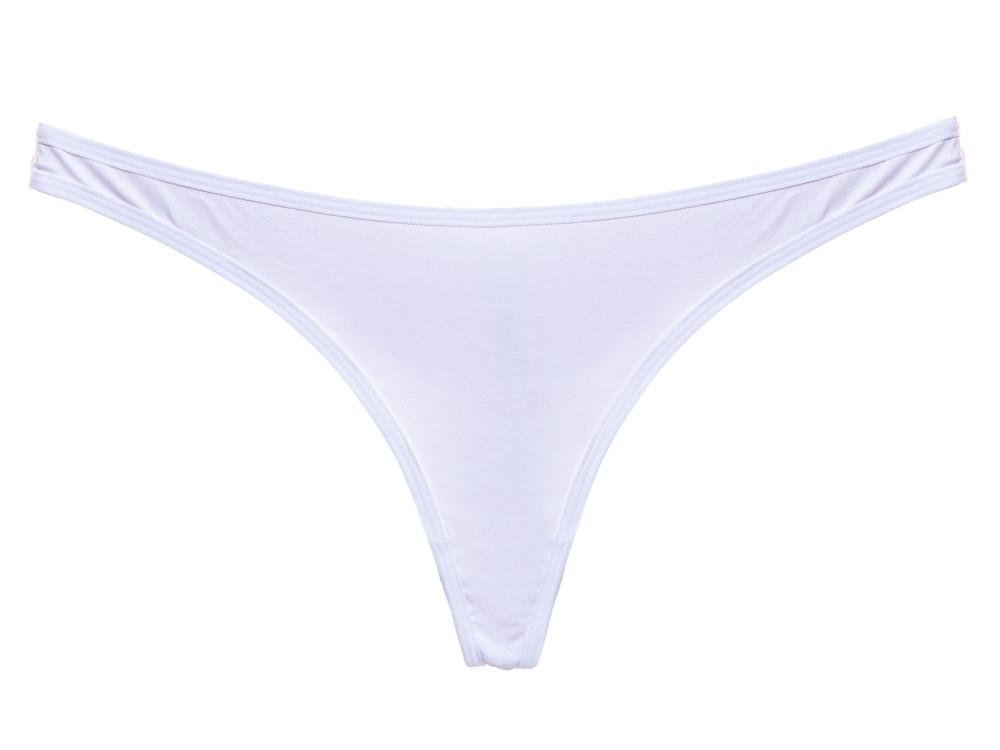 Calcinha Básica Fio Duplo White