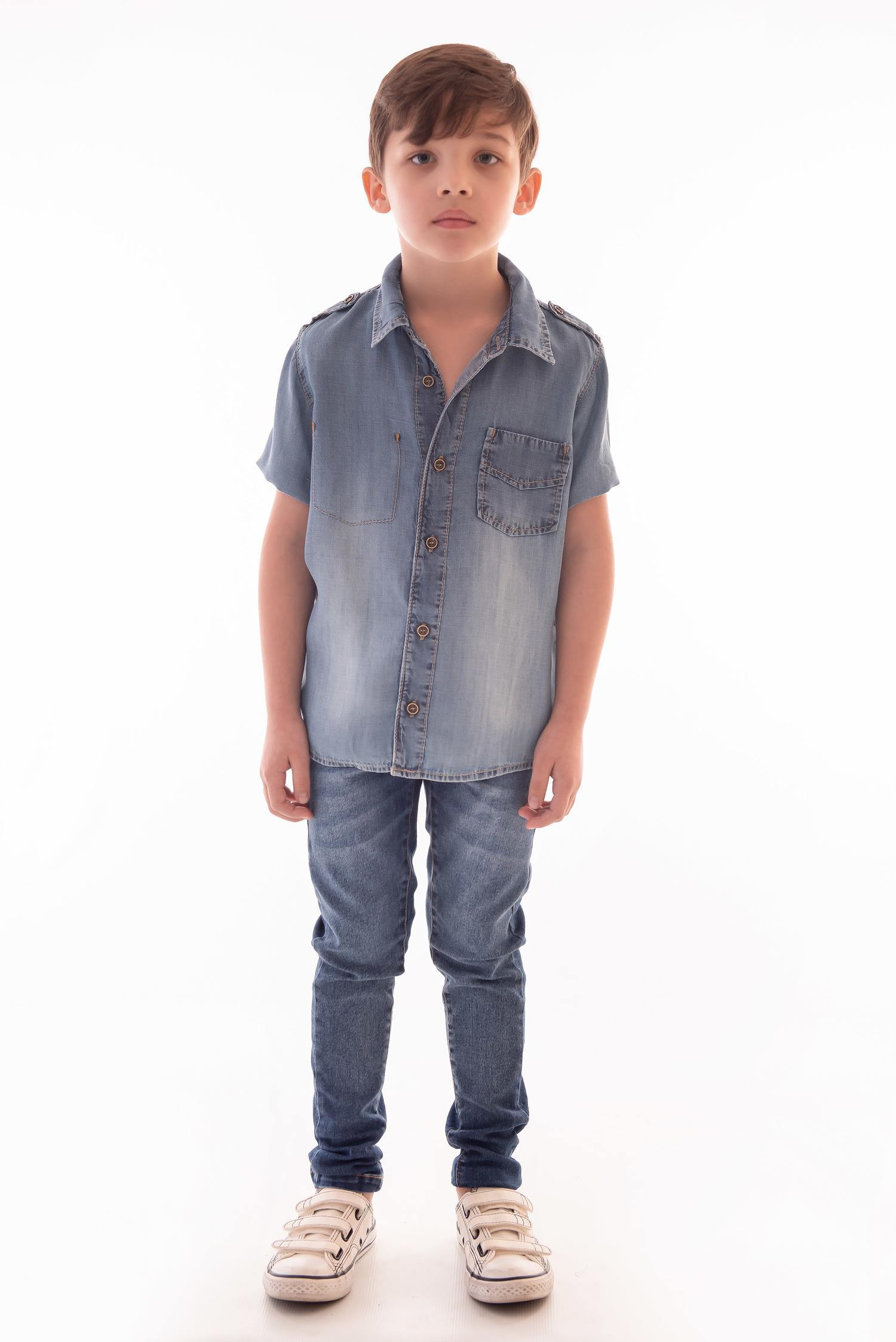 Camisa Jeans Ref. 516