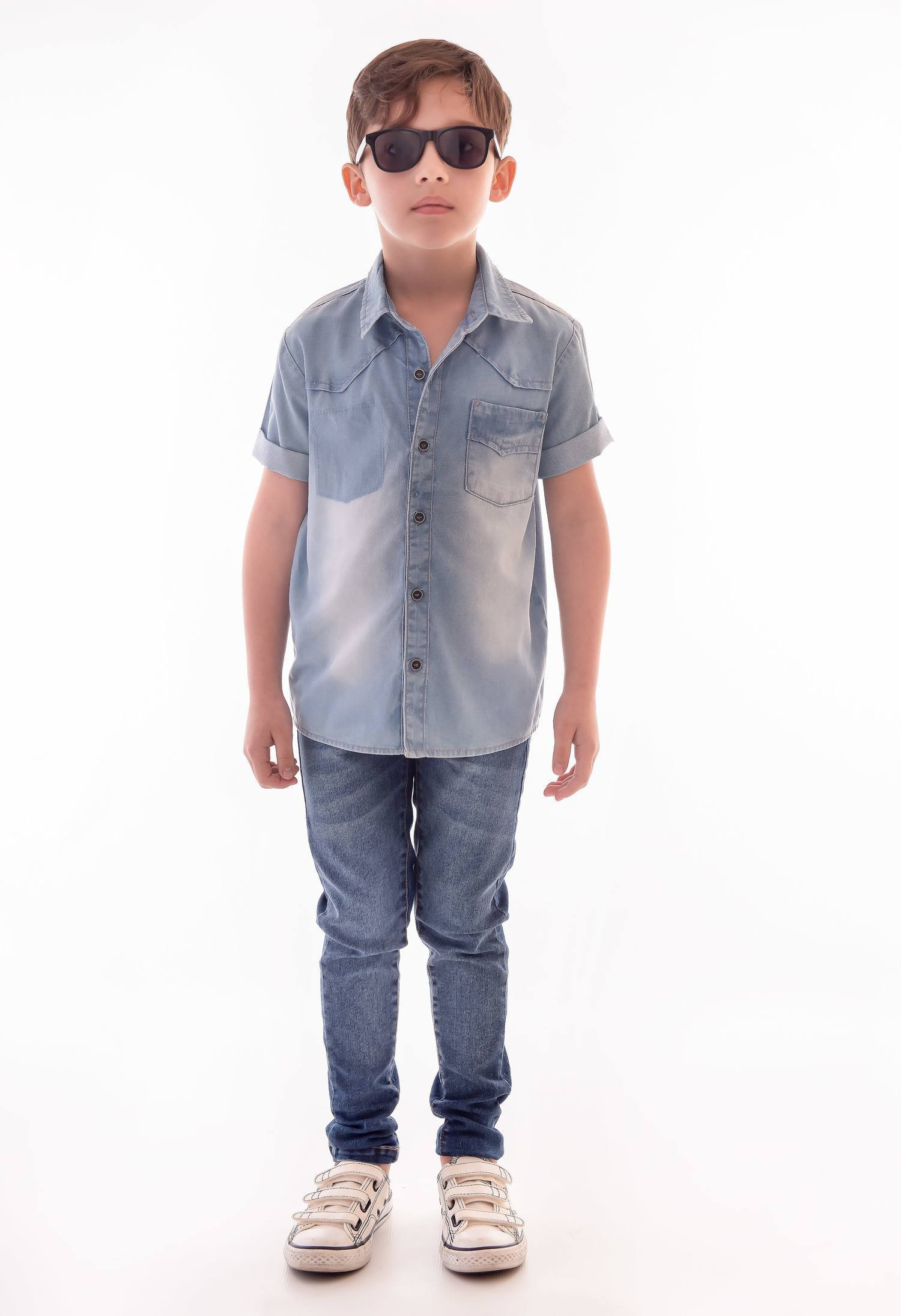 Camisa Jeans Ref. 518