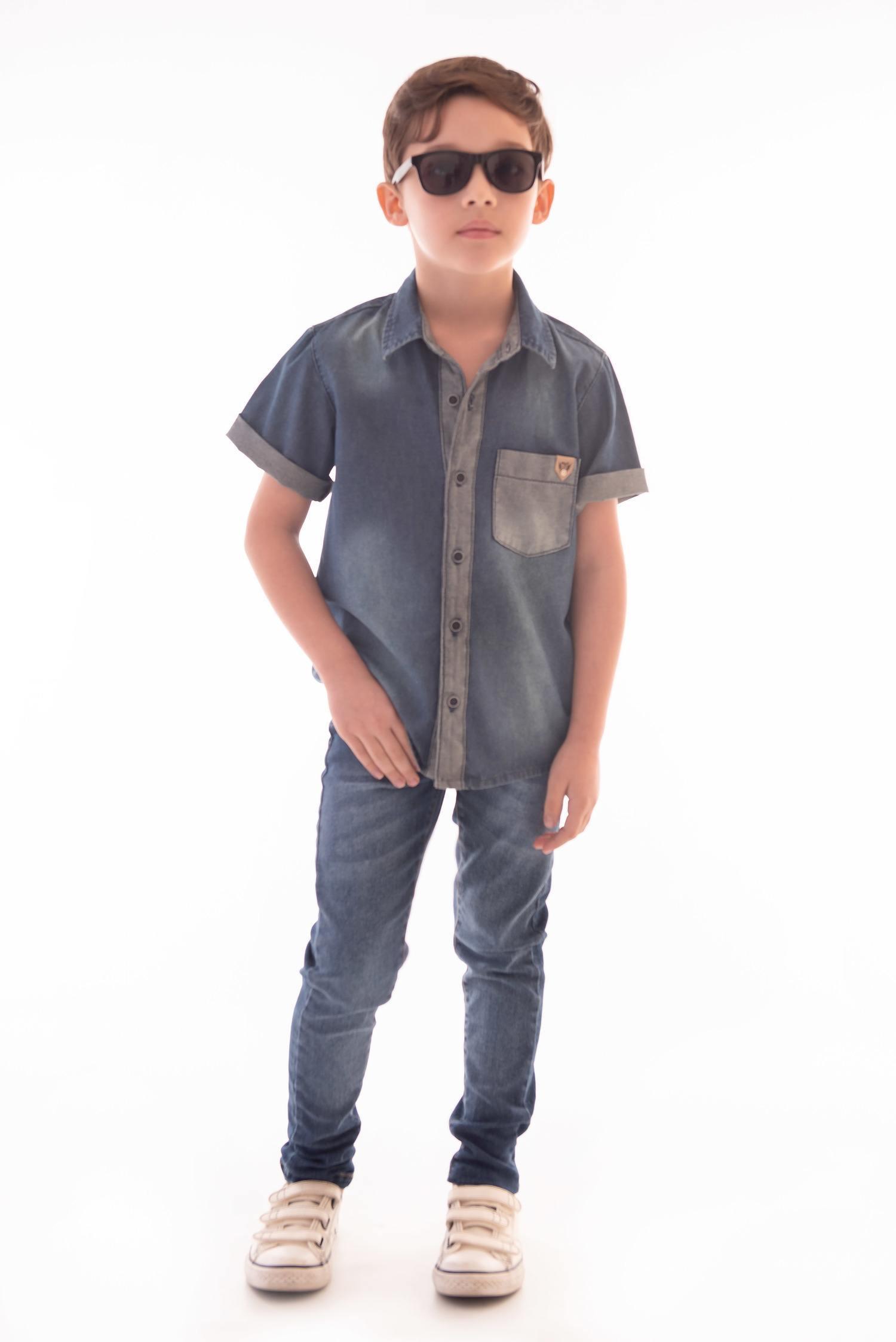 Camisa Jeans Ref. 520