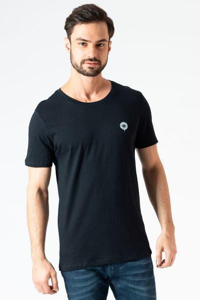 Camiseta Básica Preta Clássica KSA