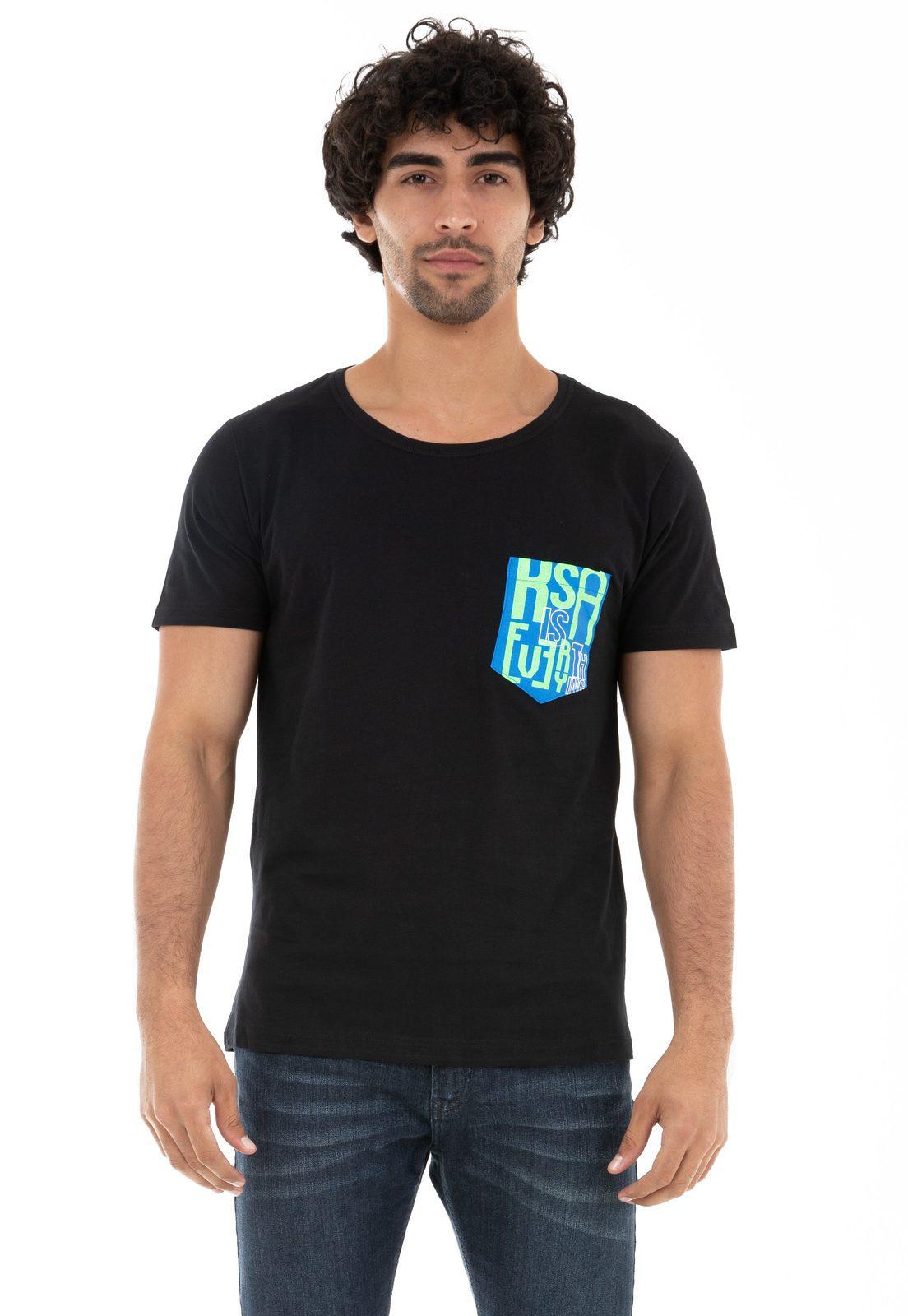 Camiseta Bolso KSA Everything Preta