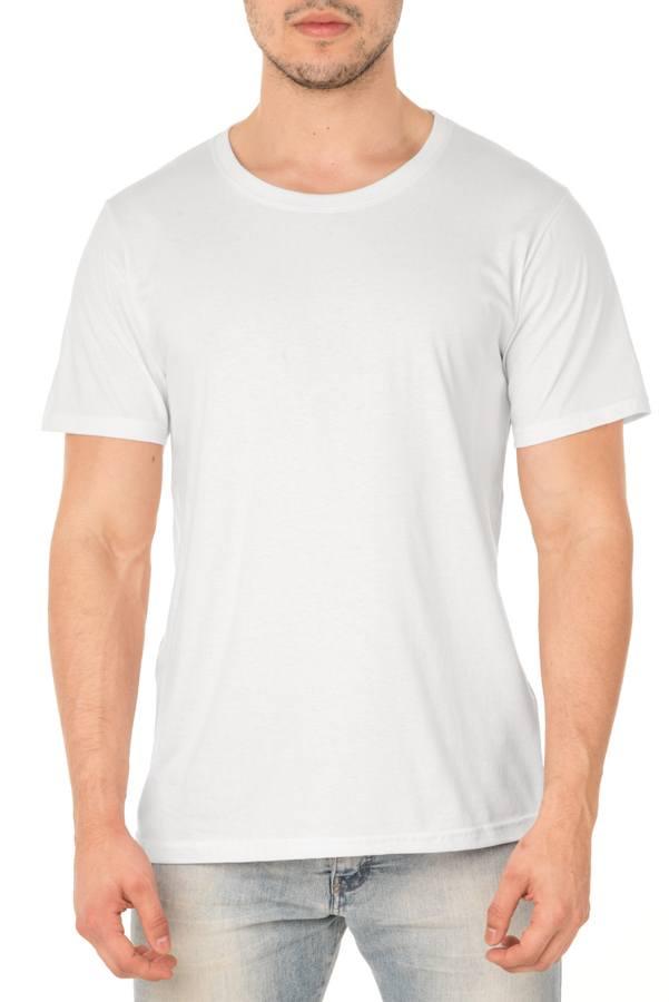 Camiseta de Algodão 30.1 Branca