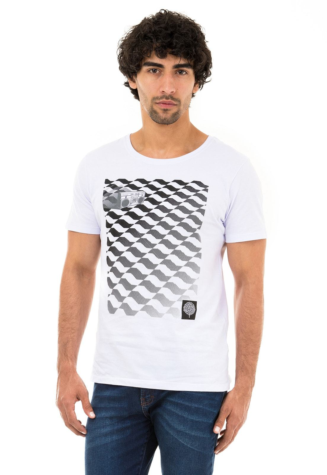 Camiseta SP Sounds KSA da árvore