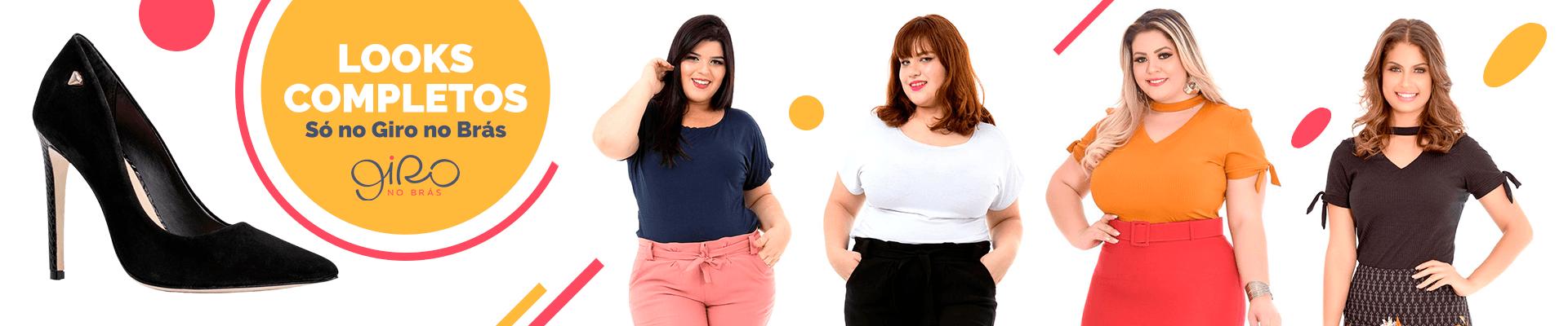 Modelos variados de looks completos direto do Brás para você.
