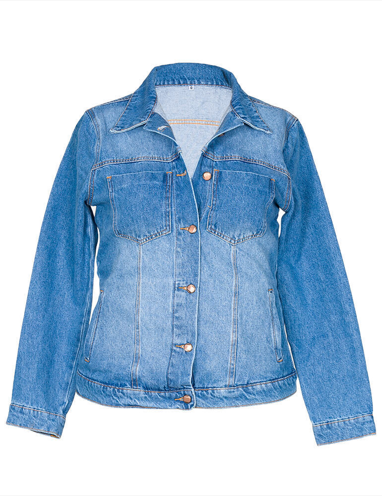 Jaqueta Jeans Feminina ref. 03551