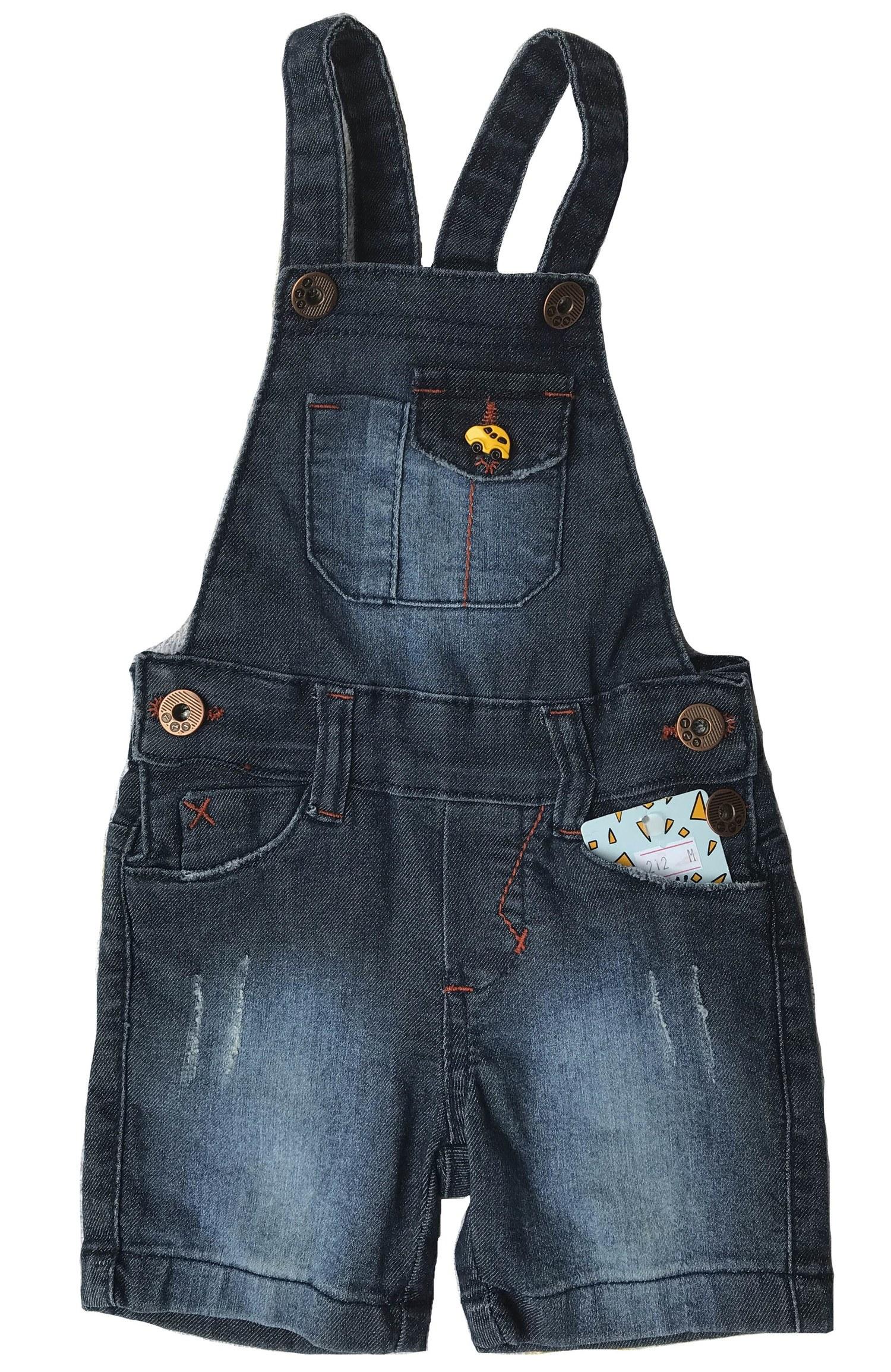 Jardineira Jeans Short Masculina Infantil [212]