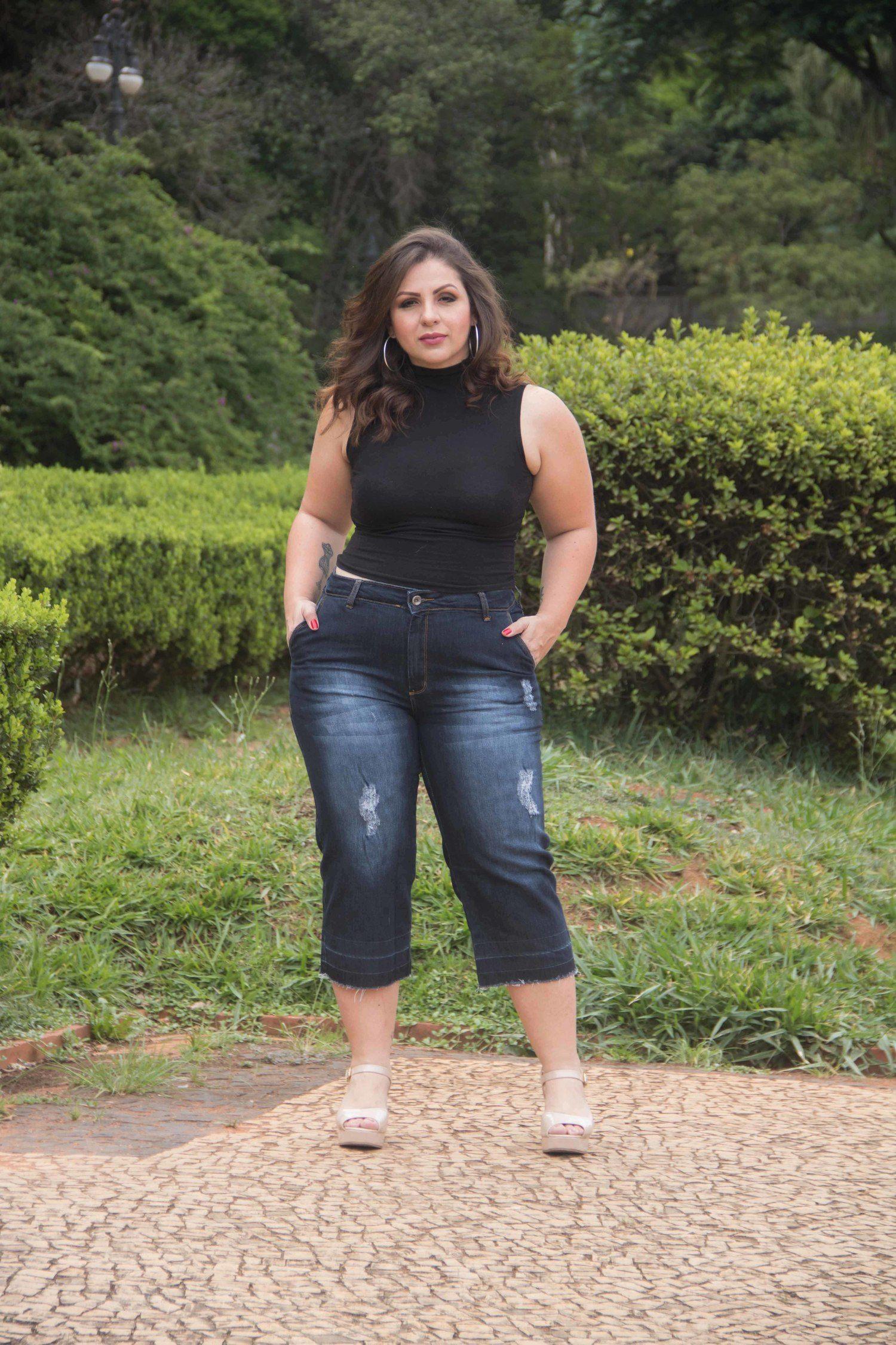 Pantacuort Dinho´s Jeans Patria Desfiada