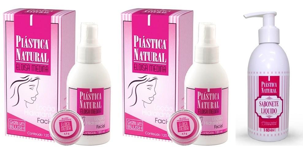 Plástica Natural - Compre 1 e Ganhe 1 + 1 Sabonete líquido com colágeno