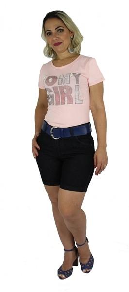 Shorts Dinho's Jeans Basico Amaciada - Feminino [1876]