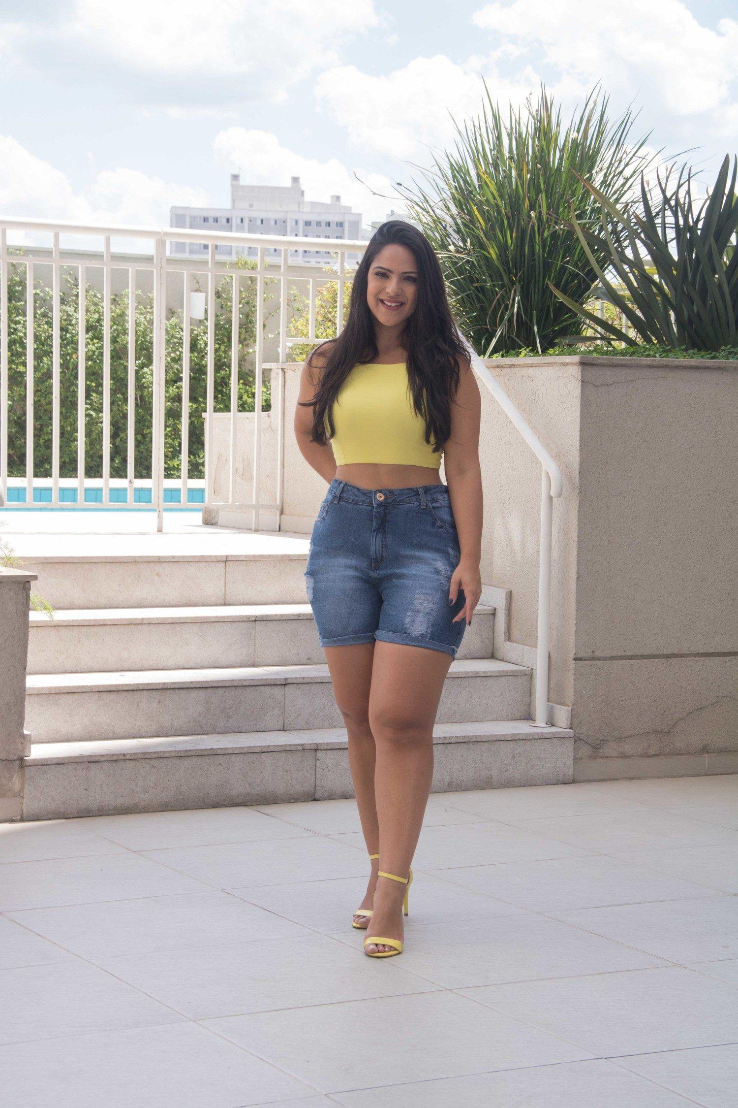 Shorts Dinho's Jeans Mom Igor(2589)