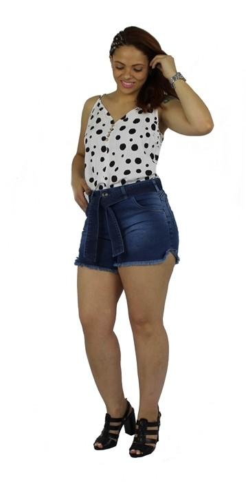 Shorts Dinho´s jeans Sandy com Cinto