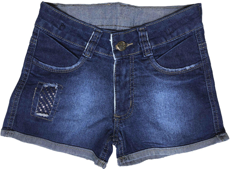 Short Feminino Jeans Infantil [603]