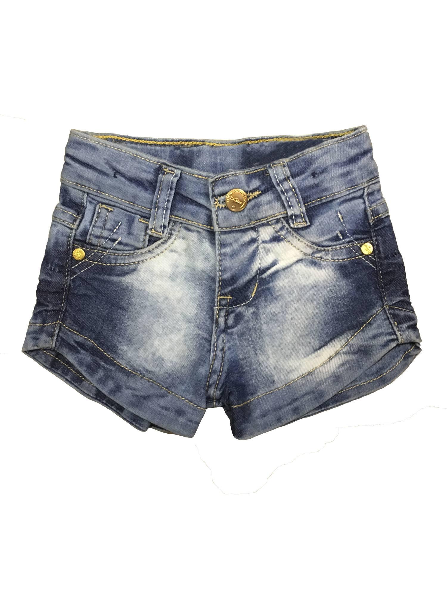 Shorts Feminino Jeans Bebê [201]