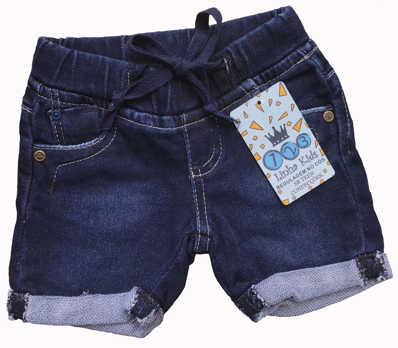 Shorts Masculino Jeans Bebê [210]