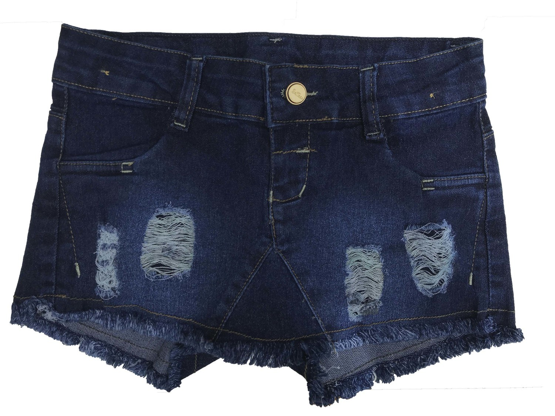 Shorts Saia Jeans Feminina Infantil [601]