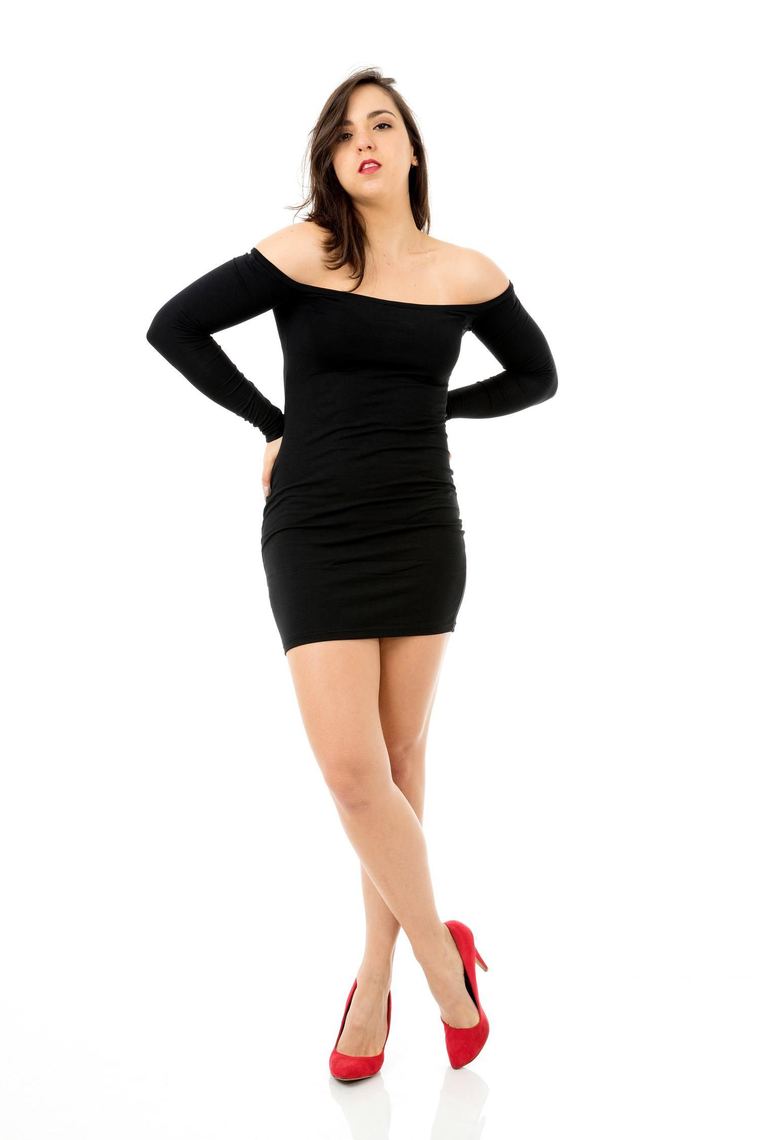 Vestido Ciganinha Manga Longa